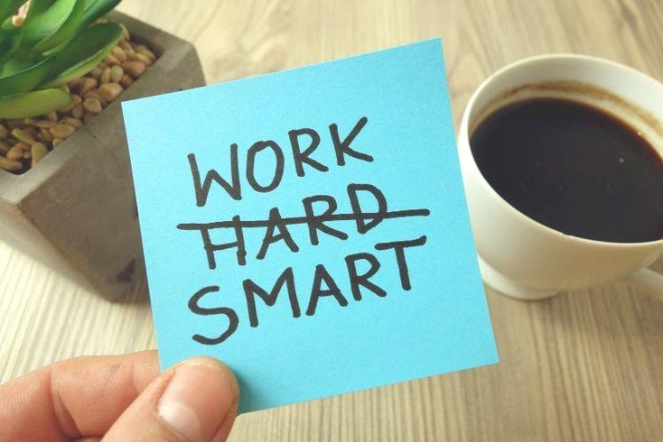 Bespaar tijd met slimme werkgewoontes